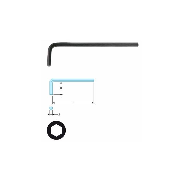 Facom 6-Kant Stiftschlüssel 9mm