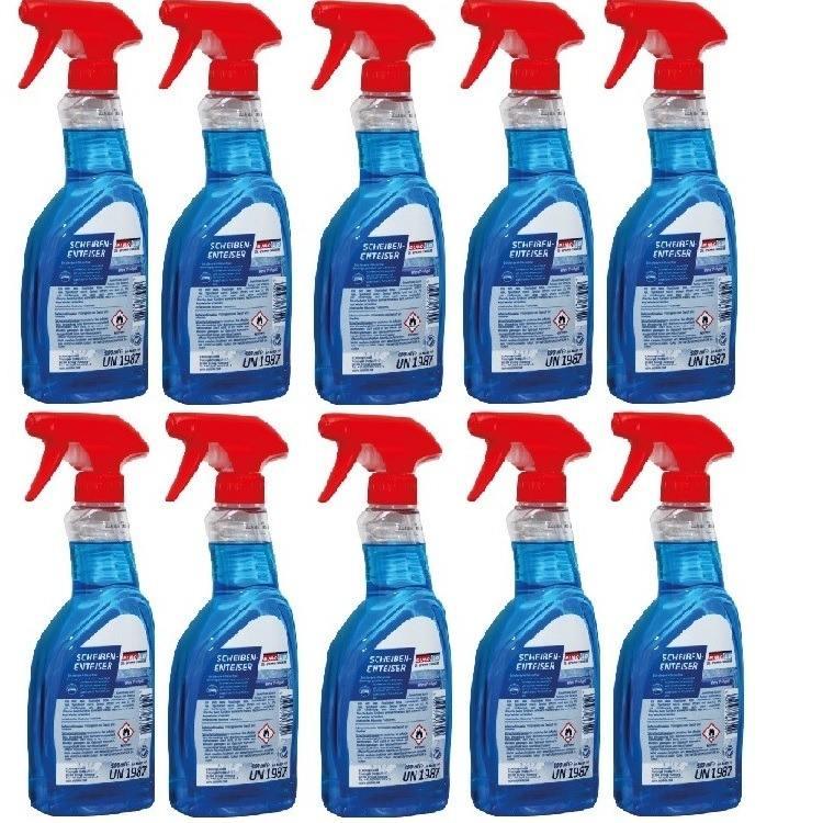 10x Eurolub Scheibenenteiser Spray 500ml