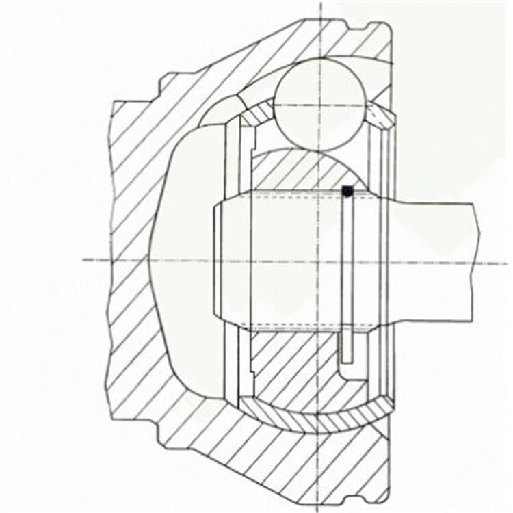 Spidan Antriebswellengelenk radseitig Opel Combo Corsa C Meriva Tigra