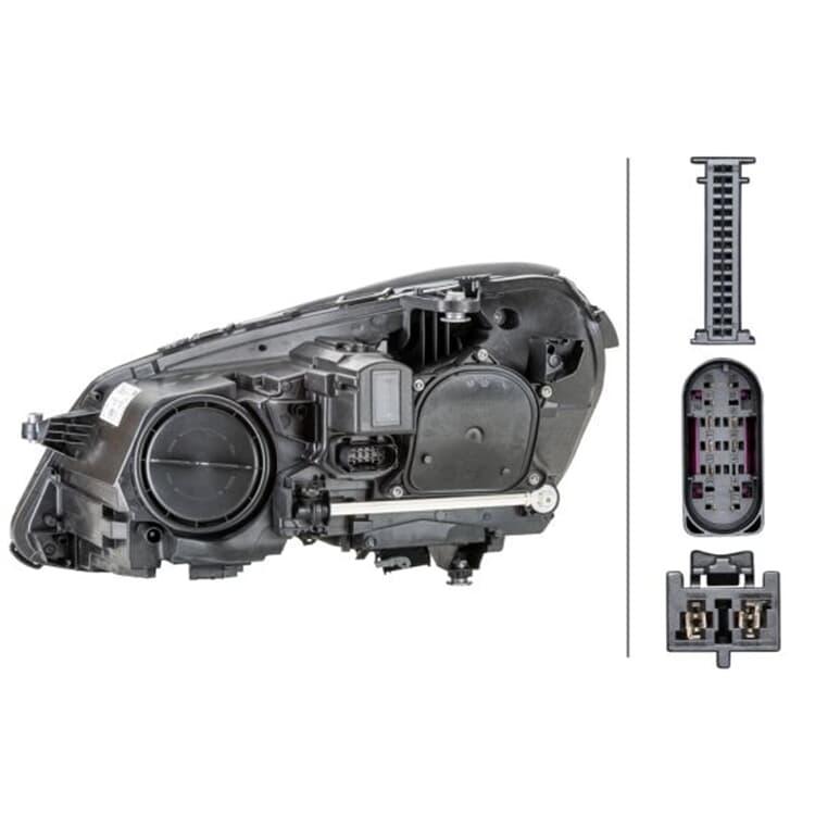 Hella Hauptscheinwerfer rechts 1EX011066-621 bei Autoteile Preiswert