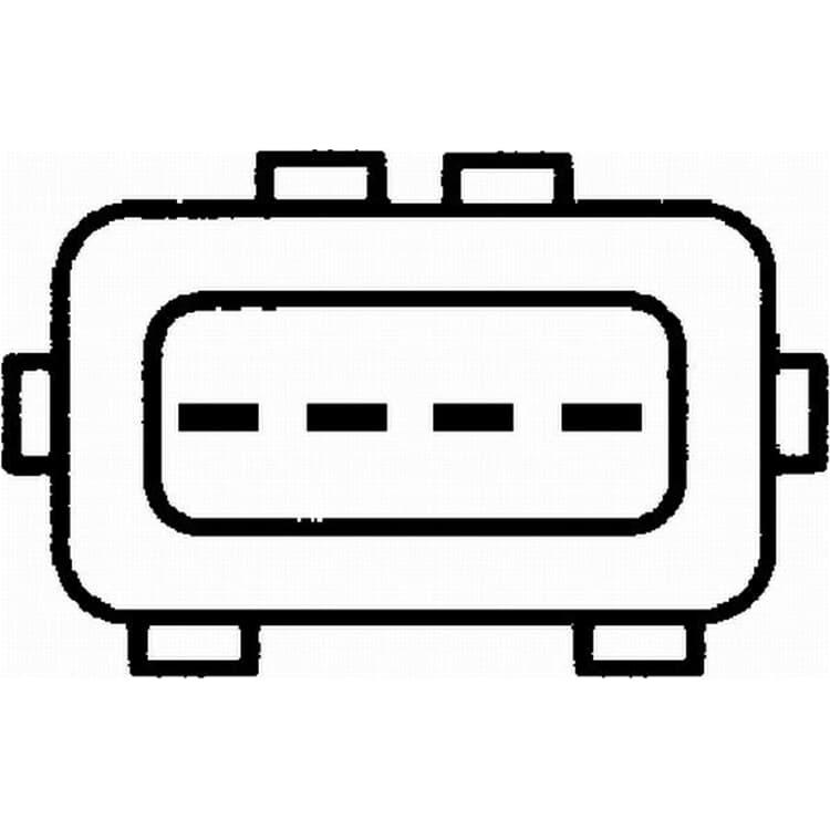 Hella Luftmassenmesser 8ET009142-041 bei Autoteile Preiswert