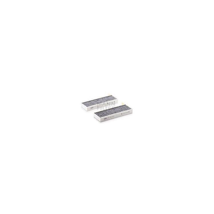 2 MANN Aktivkohle-Innenraumfilter CUK26014-2 bei Autoteile Preiswert