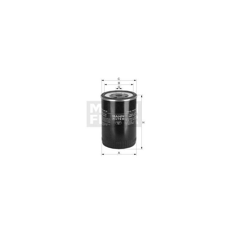 NFZ-MANN Kraftstofffilter WP962/3X