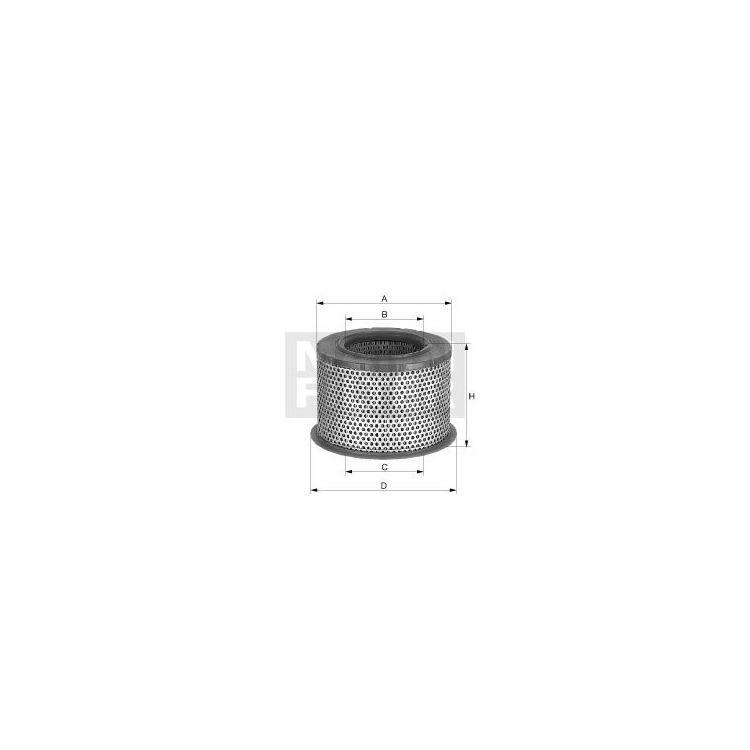 NFZ-MANN Luftfilter MAN C2375