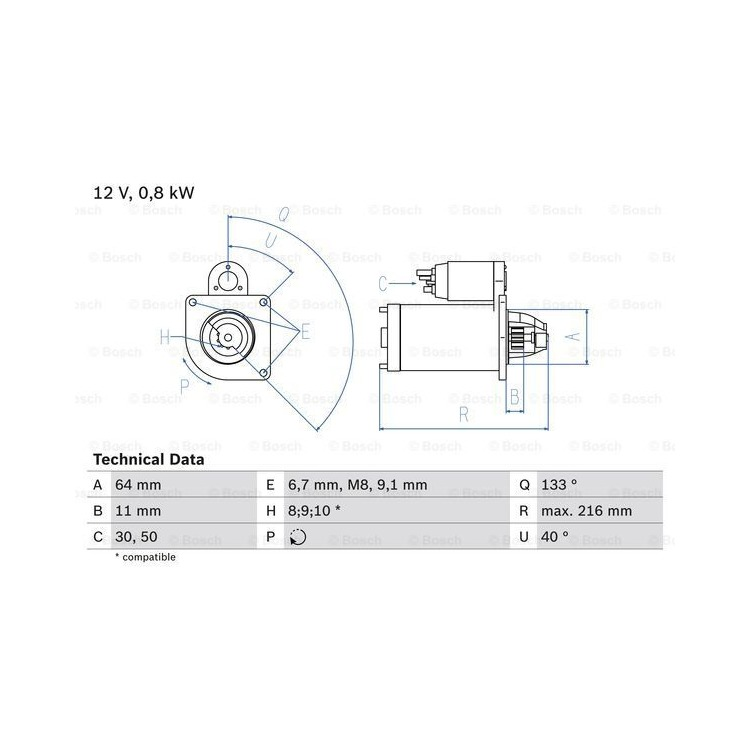 Bosch Anlasser 0986021590 online günstig Autoteile kaufen