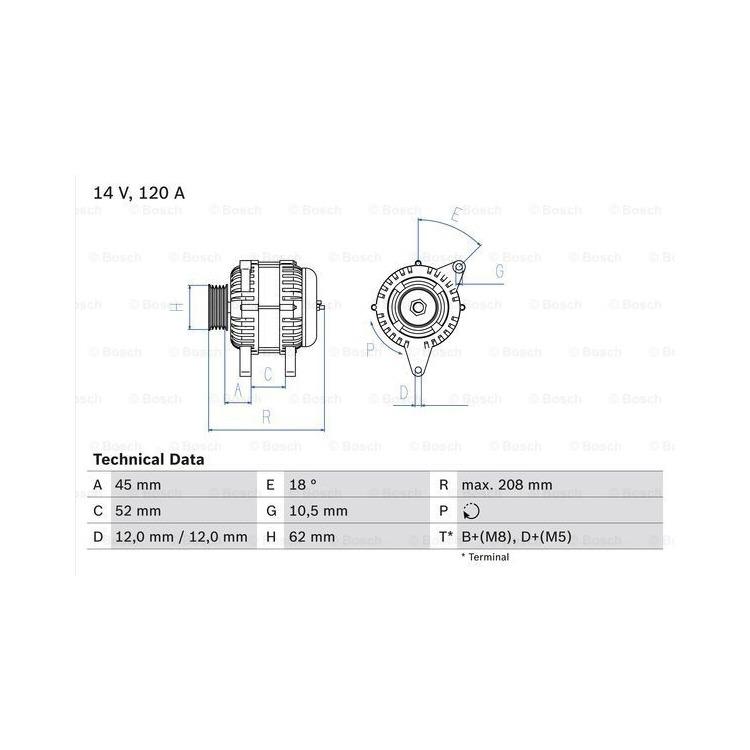 Bosch Lichtmaschine 0986049400 im Autoteile Preiswert Shop kaufen und sparen!