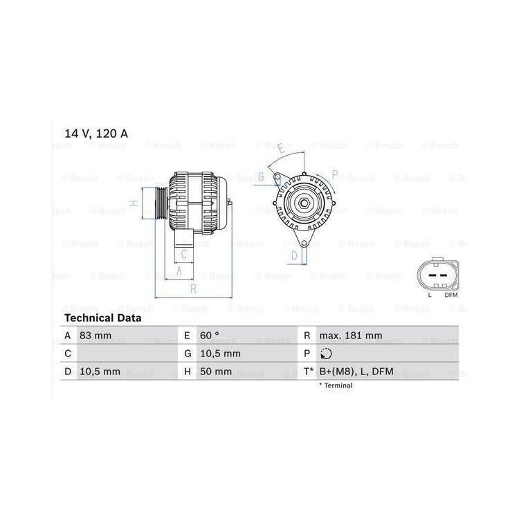 Bosch Lichtmaschine 0986047530 online günstig Autoteile kaufen