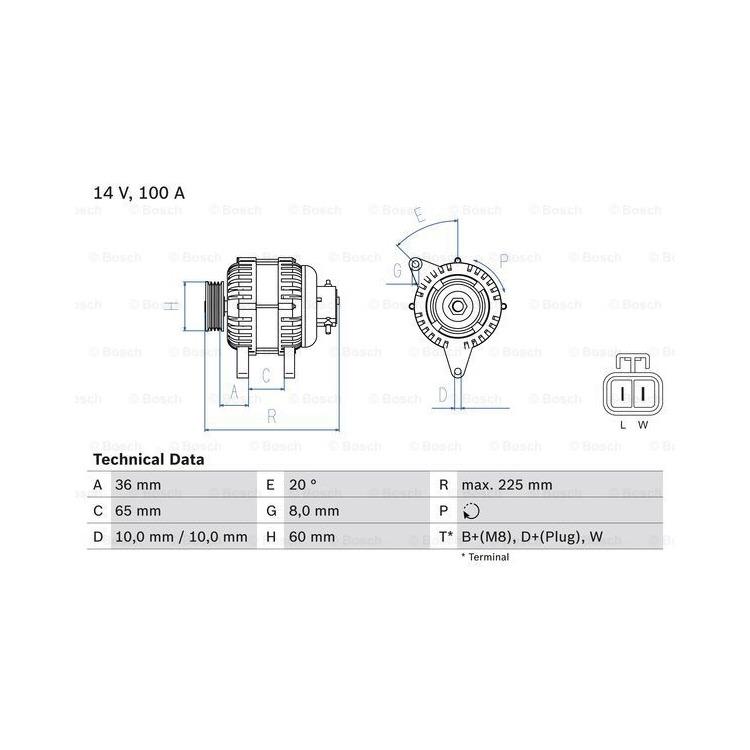 Bosch Lichtmaschine 0986043981 online günstig Autoteile kaufen