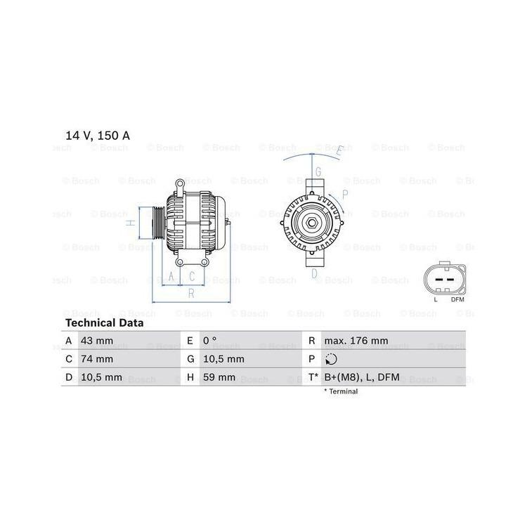 Bosch Lichtmaschine 0986047910 online günstig Autoteile kaufen