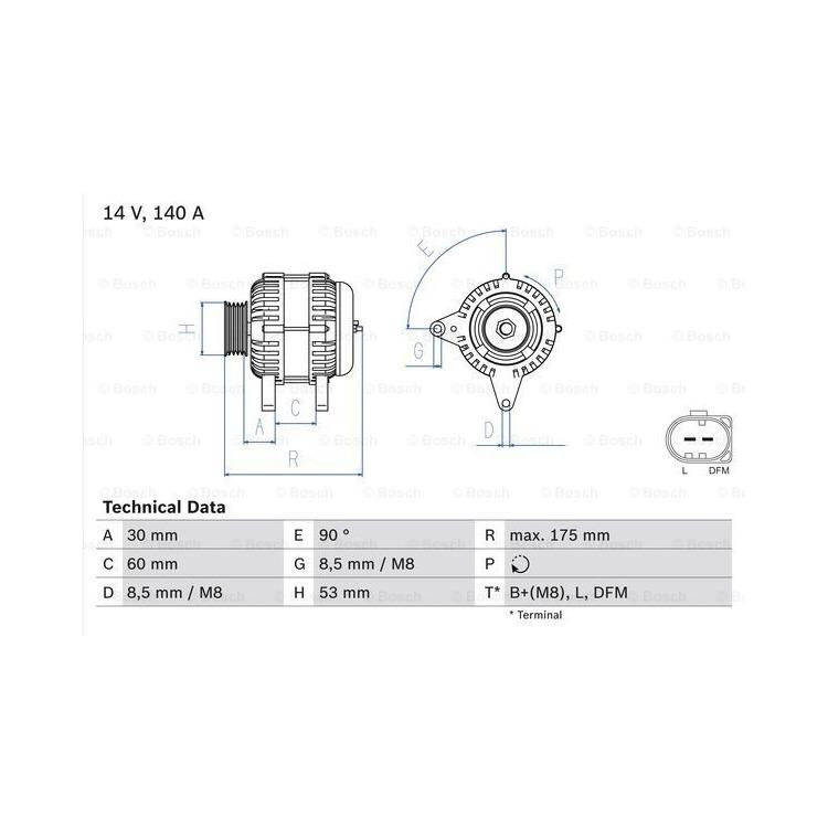 Bosch Lichtmaschine 0986080600 online günstig Autoteile kaufen