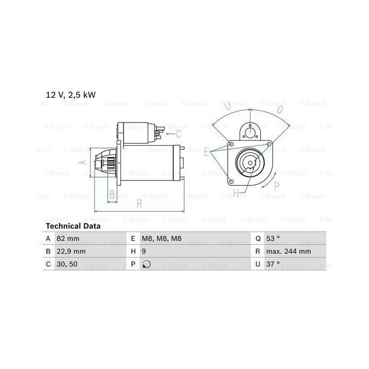 Bosch Anlasser  0986023120 online günstig Autoteile kaufen