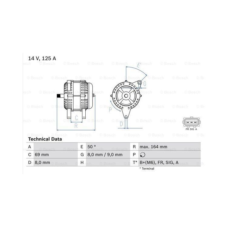 Bosch Lichtmaschine 0986049181 online günstig Autoteile kaufen