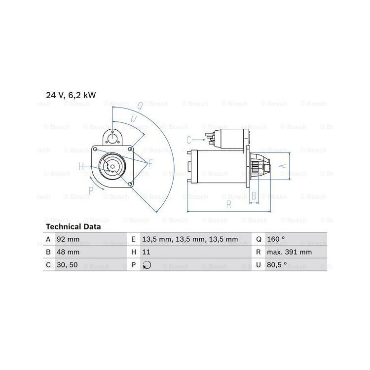 Bosch Anlasser 0986018370 online günstig Autoteile kaufen