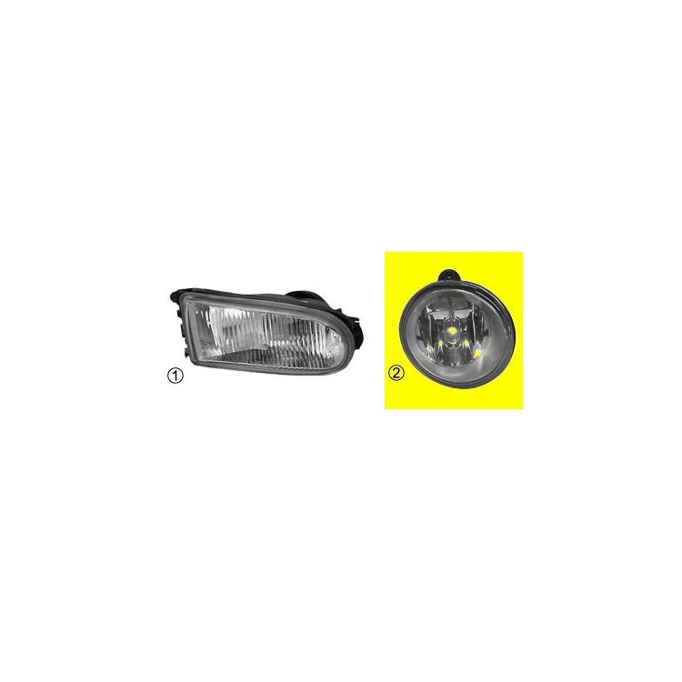 Van Wezel Nebelscheinwerfer links Nissan Opel Renault