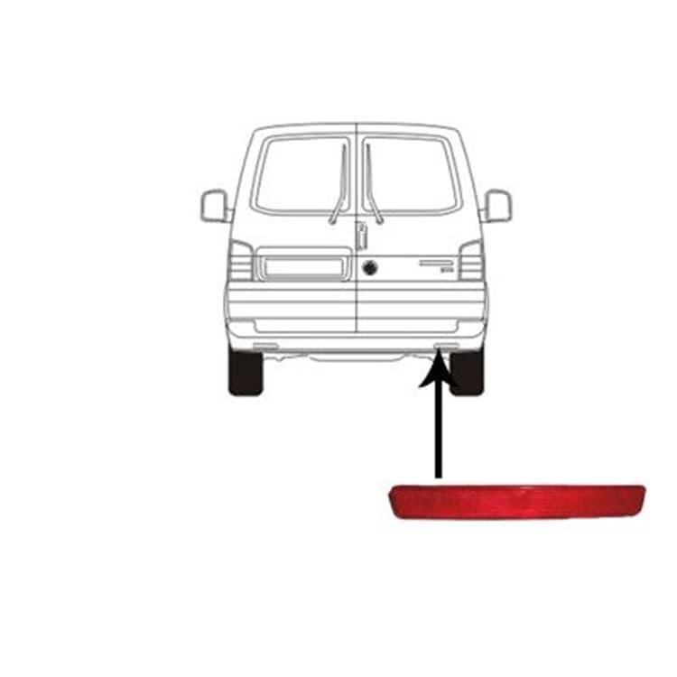 Van Wezel Rückstrahler für Stoßstange rechts 5896930 im Autoteile Preiswert Shop kaufen und sparen!