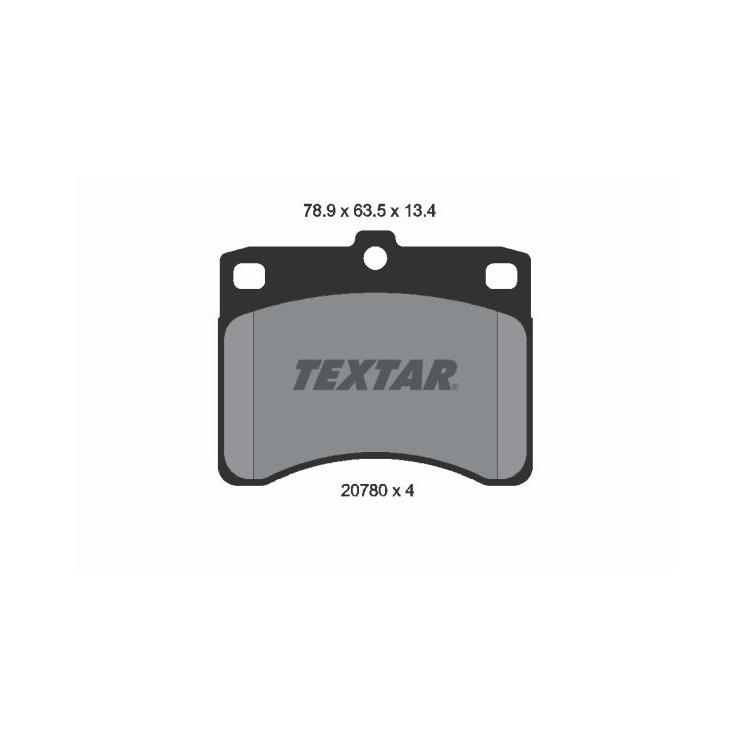 Textar Bremsbeläge vorne 2078001 im Autoteile Preiswert Shop kaufen und sparen!
