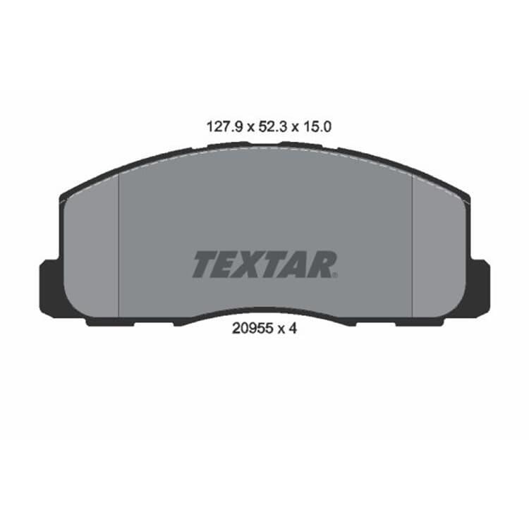 Textar Bremsbeläge vorne Mitsubishi Colt Cordia Lancer Tredia Space Wagon