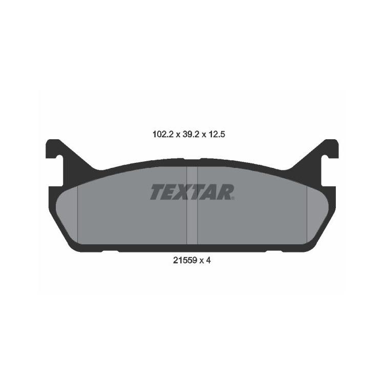 Textar Bremsscheiben + Bremsbeläge hinten Mazda 323 C F S BG MX 5 NA