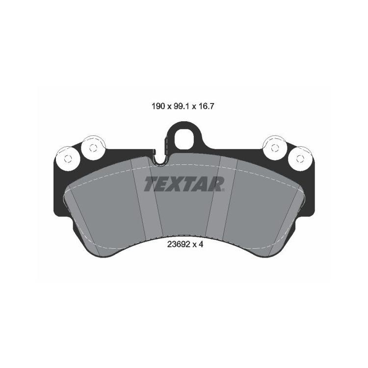 Textar Bremsscheiben + Bremsbeläge vorne 330mm Audi Q7 Porsche Cayenne VW Touareg