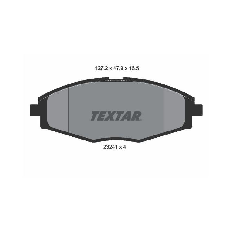 Textar Bremsscheiben + Bremsbeläge vorne Chevrolet Daewoo Matiz 0,8 1,0