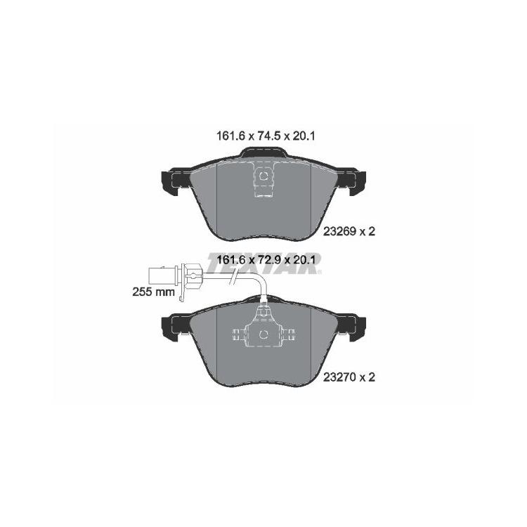 Textar Bremsbeläge vorne Ford Galaxy Seat Alhambra VW Sharan Transporter T4