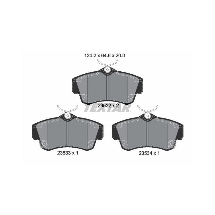 Textar Bremsscheiben + Bremsbeläge vorne Chrysler PT Cruiser