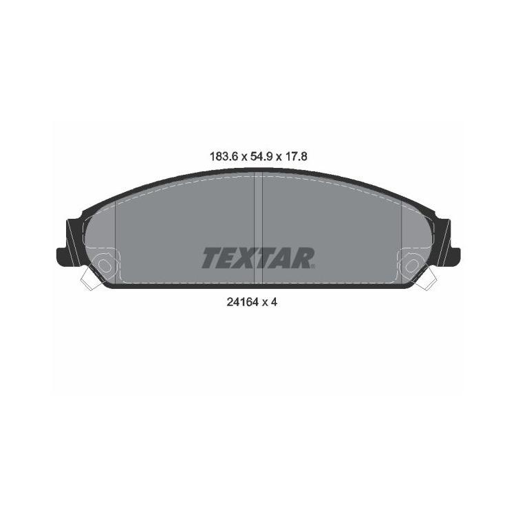 Textar Bremsscheiben + Bremsbeläge vorne Chrysler 300 C + Touring Lancia Thema