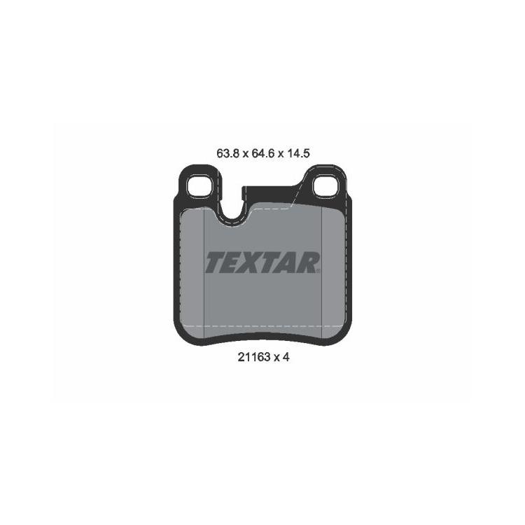 Textar Bremsbeläge hinten 2116301 im Autoteile Preiswert Shop kaufen und sparen!