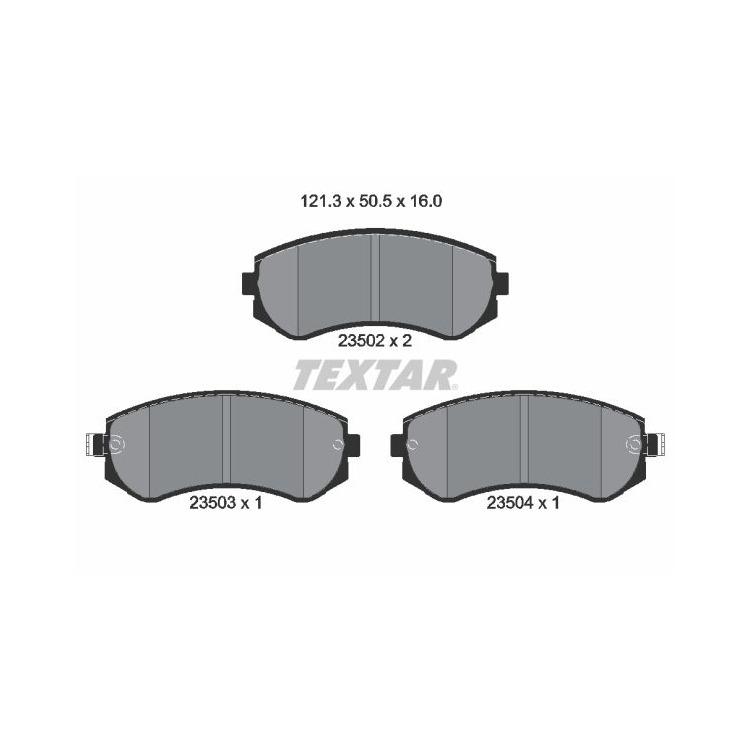 Textar Bremsbeläge vorne Nissan Almera I Patrol 1,4-4,8 +D DTi SLX Sumitomo