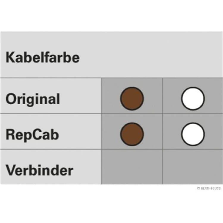 Elparts Kabelbaum Reparatursatz Heckklappe 1512512SC online günstig Autoteile kaufen