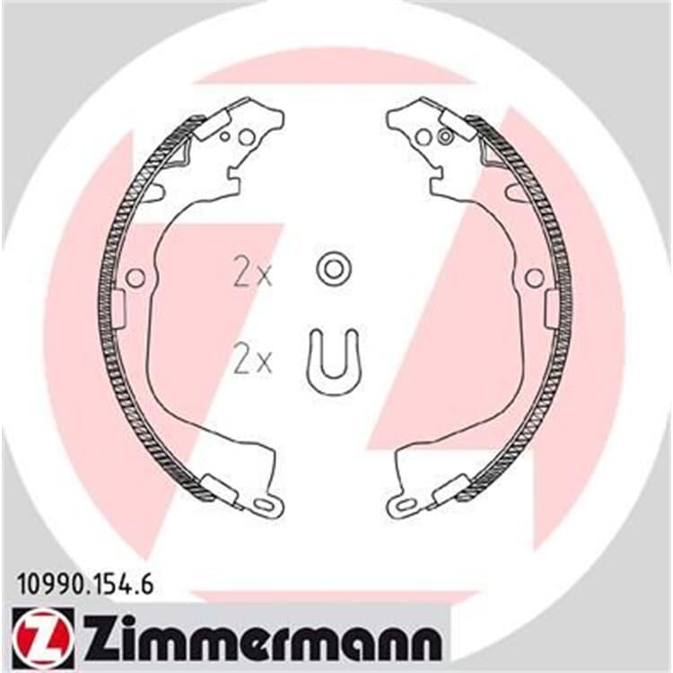 Zimmermann Bremsbacken VW Amarok