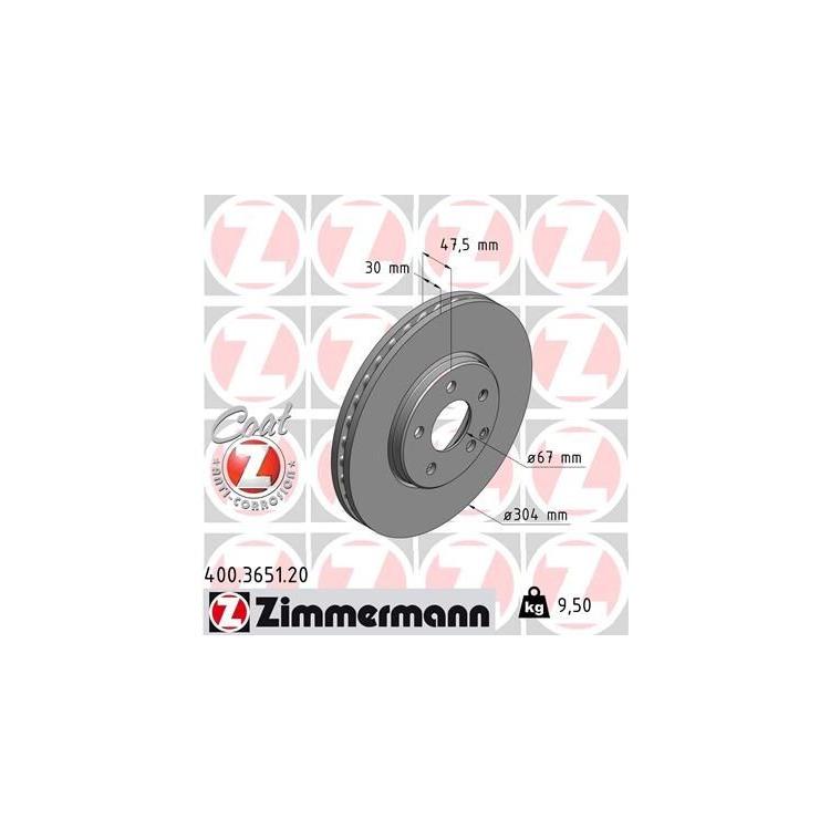 Zimmermann Bremsscheiben + Bremsbeläge vorne Mercedes E-Klasse W211 Allrad
