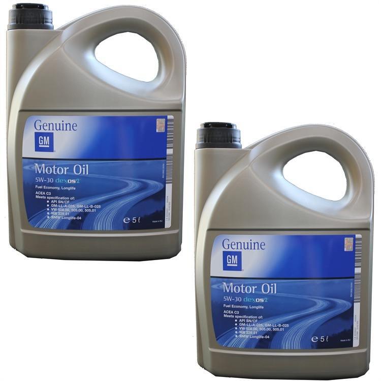 2x 5 Liter GM Original Opel 5W30 Dexos 2 2x 1942003 93165557 im Autoteile Preiswert Shop kaufen und sparen!