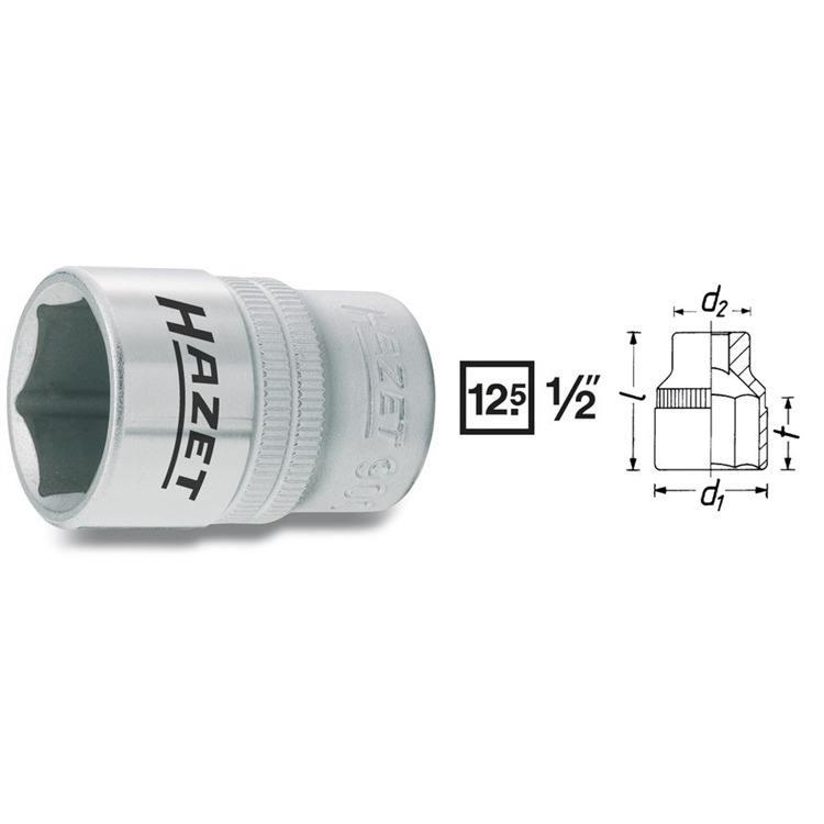 """Hazet 1/2"""" Stecknuss 32mm"""