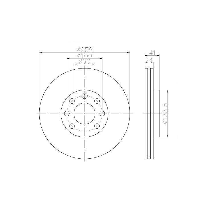Textar Bremsscheiben+ Zimmermann Beläge vorne Opel Vectra Kadett Astra
