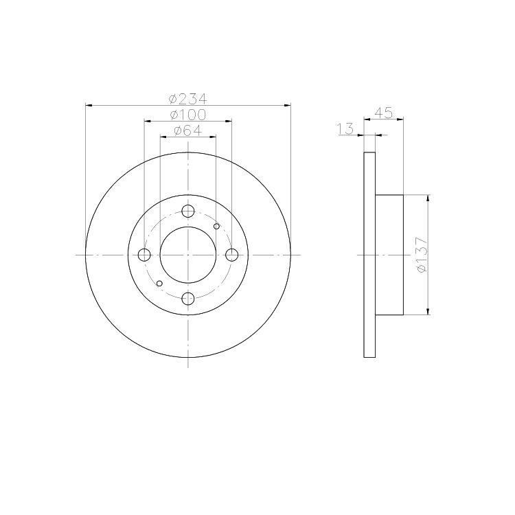 Textar Bremsscheiben + Bremsbeläge vorne Mitsubishi Colt Lancer Persona 300 400 Wira