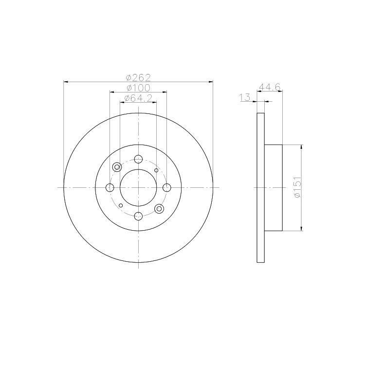 Textar Bremsscheiben + Bremsbeläge vorne MG ZR ZS Rover 200 25 400 45 Coupe Streetwise