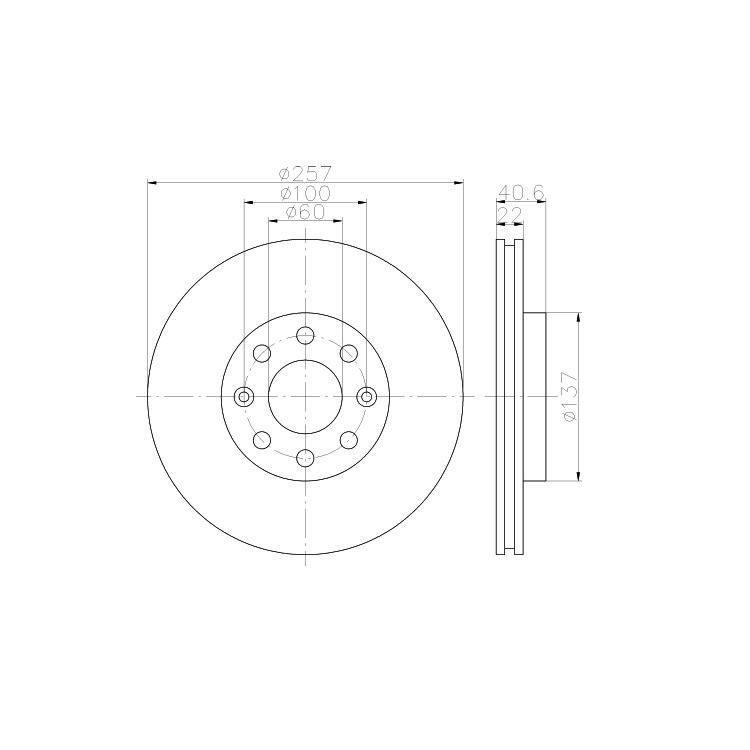 Textar Bremsscheiben + Bremsbeläge vorne Opel Corsa D 257mm