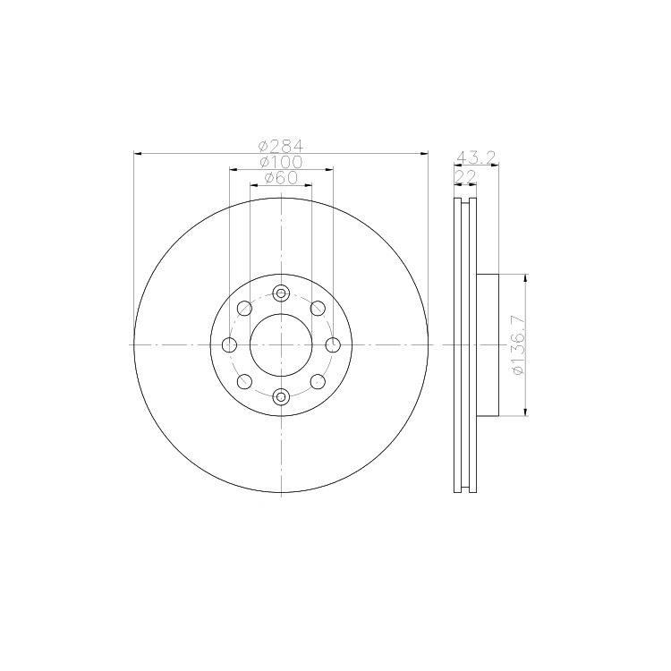 Textar Bremsscheiben + Bremsbeläge vorne 284mm Opel Corsa D 1,3 CDTI