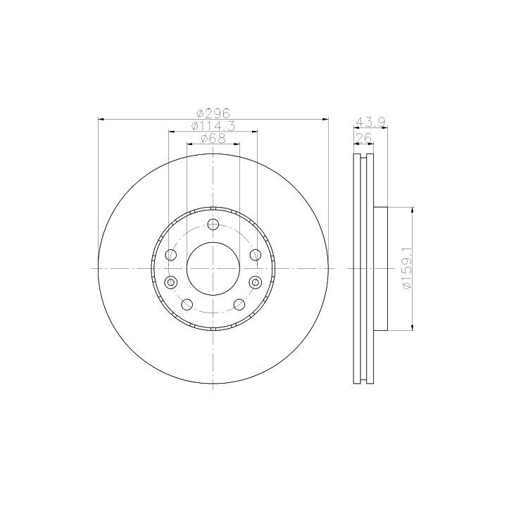 Textar Bremsscheiben + Bremsbeläge vorne Renault Laguna 3 Latitude 1,5 dCi 2,0 3,5