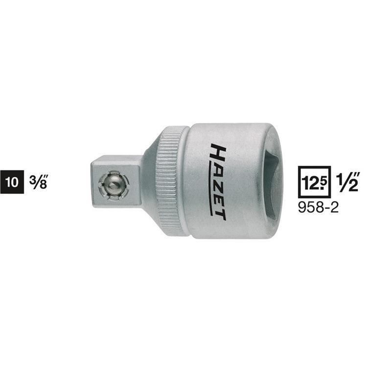 """Hazet Adapter 1/2"""" auf 3/8"""