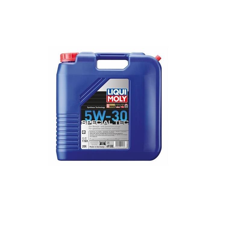 Liqui Moly Leichtlauf Special 5W30 20 Liter 1181 im Autoteile Preiswert Shop kaufen und sparen!