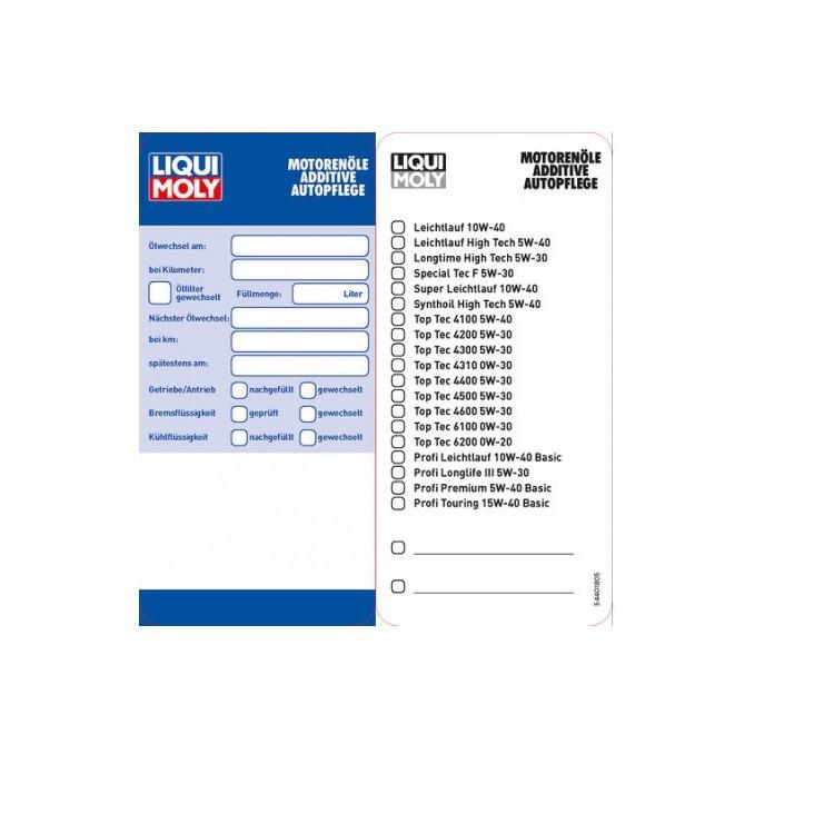 Liqui Moly Ölzettel 5440 im Autoteile Preiswert Shop kaufen und sparen!
